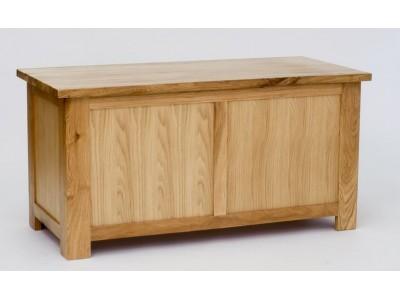 Lansdown Oak Blanket Box